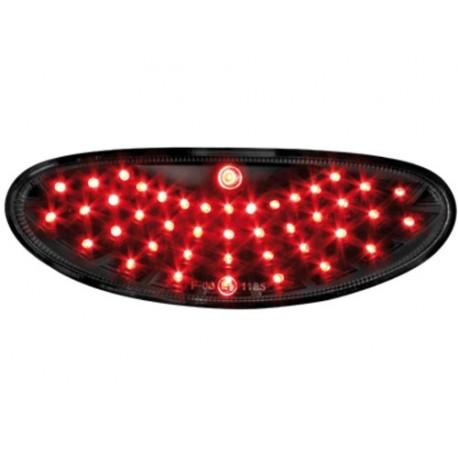 LAMPA PRZECIWMGIELNA LED PEUGEOT 206/206CC CZARNE