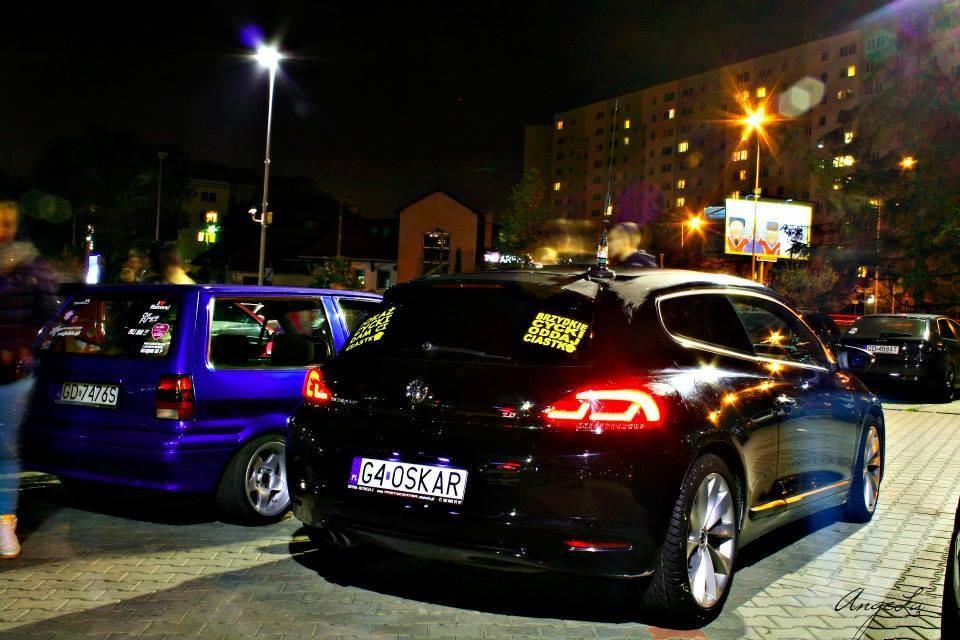 Lampy tylne LED VW Scirocco